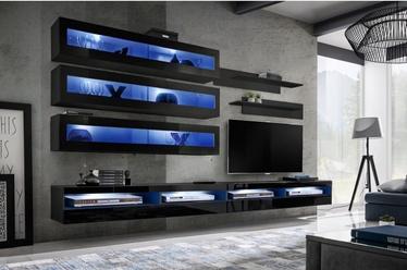 ASM Fly U5 Living Room Wall Unit Set Black