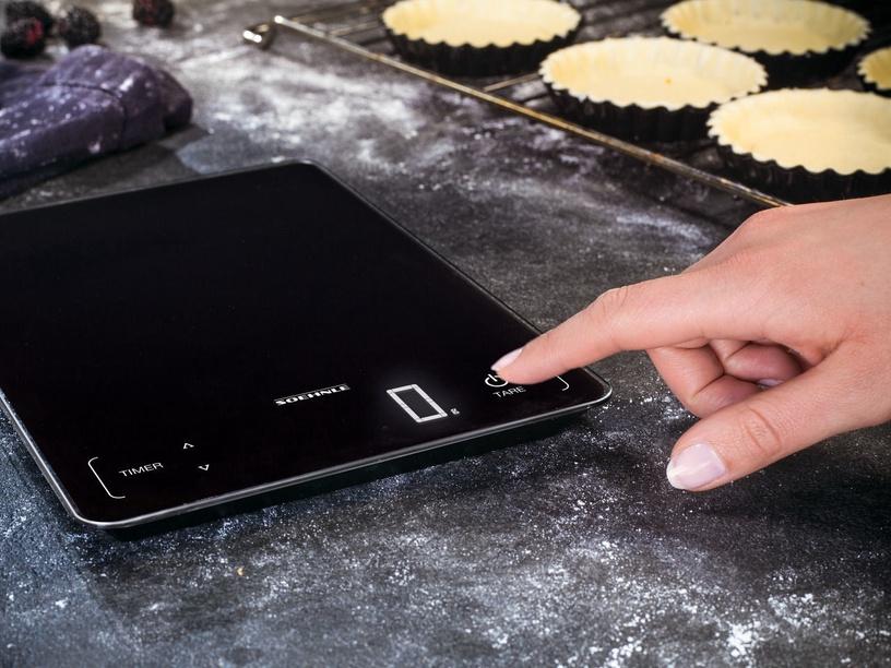 Soehnle Electronic Kitchen Scales Page Profi 100 Black