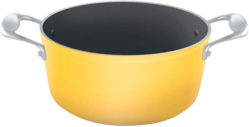 Lamart Ceramic Pot 22cm Yellow/Black