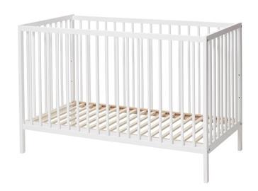 Lastevoodi BabyDan Comfort White, 120x60 cm