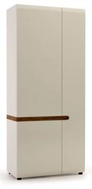 Meble Wojcik Linate 2D 20 Wardrobe White/Truffle Oak