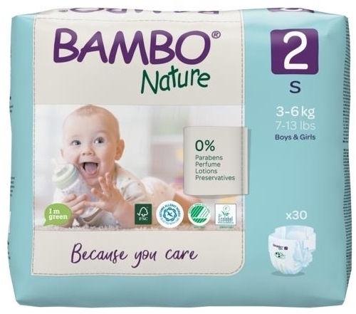 Mähkmed Bambo Nature Classic, 2, 30 tk