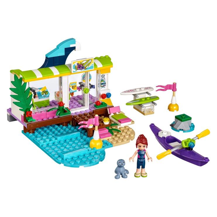 Konstruktor LEGO Friends, Heartlake'i surfipood 41315