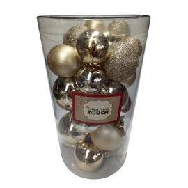 Jõulupuu ehe Christmas Touch N4/LX30BALL Gold, 60 mm, 30 tk