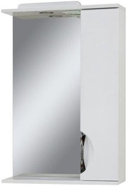 Sanservis Laura-56 Cabinet with Mirror White 56x83.6x17cm