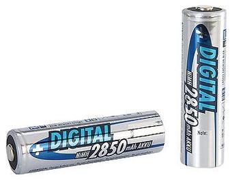 Ansmann Digital NiMH rechargeable battery AA 2850mAh x 2