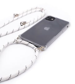 Evelatus Back Case With Rope For Apple iPhone 11 White/Transparent