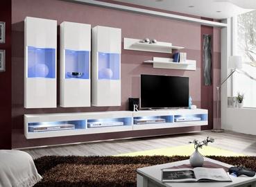 ASM Fly Q7 Living Room Wall Unit Set White