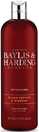 Baylis & Harding Refreshing Shower Gel 500ml Black Pepper/Ginseng