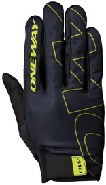 One Way Universal Full Gloves Black/Yellow 6