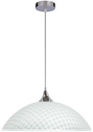 Candellux Serenada Hanging Ceiling Lamp 60W E27 White /Chrome