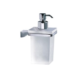 Gedy Glamour 5781 13 Wall-Hung Soap Dispenser White/Chrome