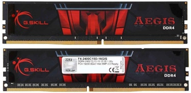 G.SKILL Aegis 16GB 2400MHz CL15 DDR4 DIMM KIT OF 2 F4-2400C15D-16GIS