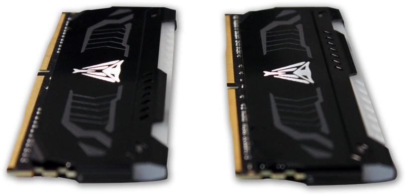 Patriot Viper LED RED Series 8GB 3000MHz CL14 DDR4 KIT OF 2 PVLR48G300C5K