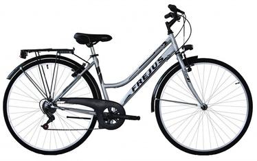 "Jalgratas Frejus, hõbe/must, 28"""