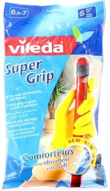Vileda Gloves Supergrip Size S