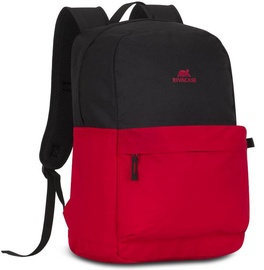 "Rivacase Backpack Mestalla 15.6"" Black/Red"