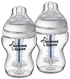 Lutipudel Tommee Tippee Closer To Nature Anti-Colic Bottle 260ml 2tk