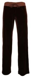 Bars Womens Trousers Dark Brown 84 S