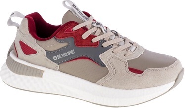 Big Star Sport Shoes GG174463 Beige/Red 44