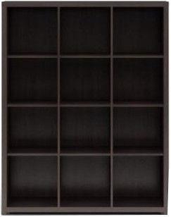Black Red White Shelf Nepo REG/15/12 Wenge