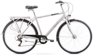 "Jalgratas Romet Grom 6S Silver, 20"", 28"""