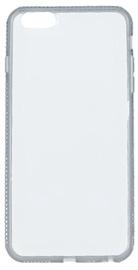 Beeyo Diamond Frame Back Case For Samsung Galaxy S8 Transparent/Gray