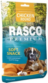 Rasco Dog Premium Snacks Chicken Rounds 80g