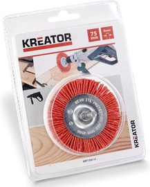 Kreator Disc Brush Nylon 75mm