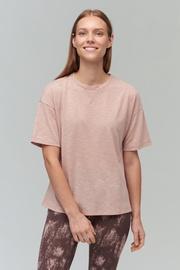 Audimas Light Dri Release T-Shirt Misty Rose M