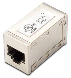 Digitus Modular Coupler CAT6a FTP/STP RJ45 Aluminium