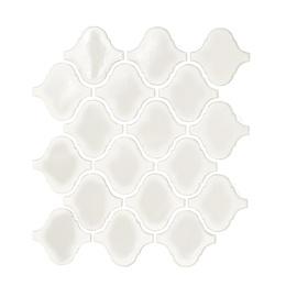 Ker mosaiik valge läikiv DL1001, 28,5 x 31 cm