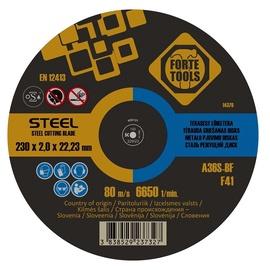 Отрезной диск FORTE TOOLS, 230X2.0X22