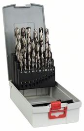 Bosch 2608587017 ProBox HSS-G Metal Drill Bit Set 25pcs