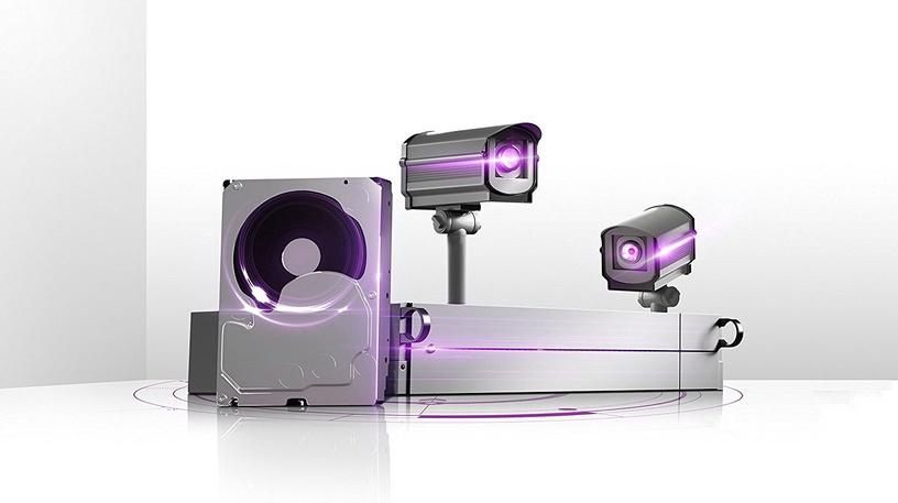 Western Digital Purple Series 4TB 5400RPM SATAIII 64MB Surveilance Hard Drive WD40PURZ