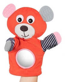 Canpol Babies Hand Pupet With Teether Bears Coral