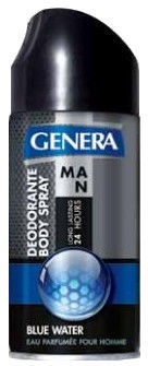 Genera Blue Water Deodorant Spray 150ml