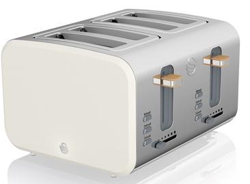 Тостер Swan 4 Slice Nordic Style Toaster ST14620WHTN White