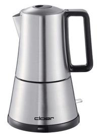 Cloer Espresso Coffee Maker 5928 Silver