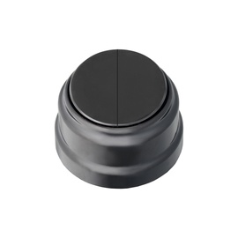 Okko A5 10-2202 Retro Double Switch Black
