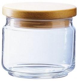Luminarc Mania Storage Jar 0.5l Wooden Lid
