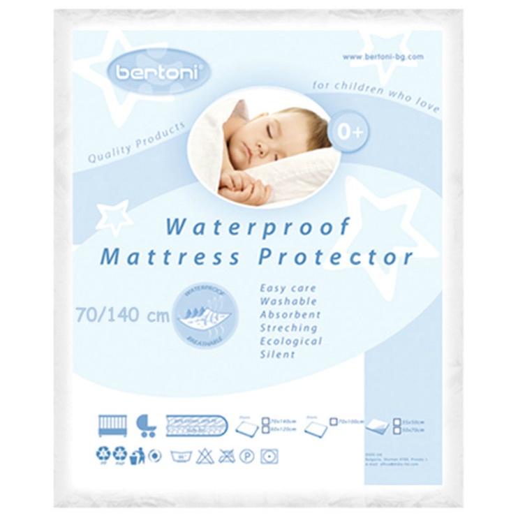 Bertoni Lorelli Waterproof Protector For Mattresses/Strollers 70x140cm
