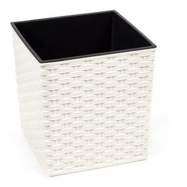 Lamela Juka Rattan 597 Flower Pot 400x400x415mm Cream