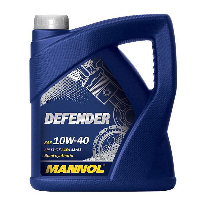 Mootoriõli Mannol Defender 10W/40 5L