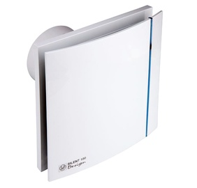 Ventilaator S&P Silent Design 100CRZ, valge