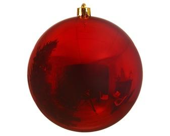 Jõulupuu ehe Decoris 022262, punane, 140 mm, 1 tk