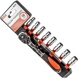 Ega Socket Set 1/4'' 6-13mm 10pcs