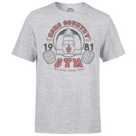Nintendo T-Shirt Donkey Kong Gym Light Grey M