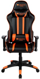 Canyon Fobos Gaming Chair Black/Orange + Canyon Nightfall Mechanical Gaming Keyboard