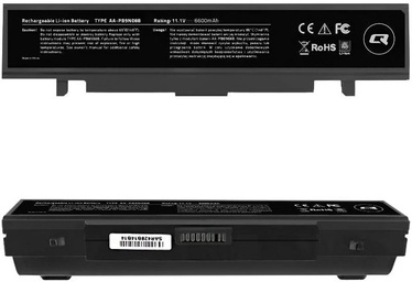 Qoltec Long Life Notebook Battery For Samsung R580 6600mAh
